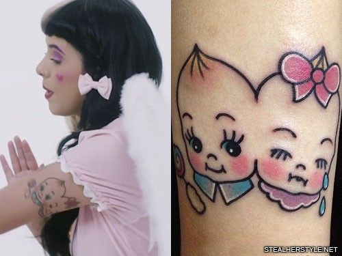 Melanie Martinez S 35 Tattoos Meanings Steal Her Style Doll Tattoo Melanie Martinez Music Melanie Martinez