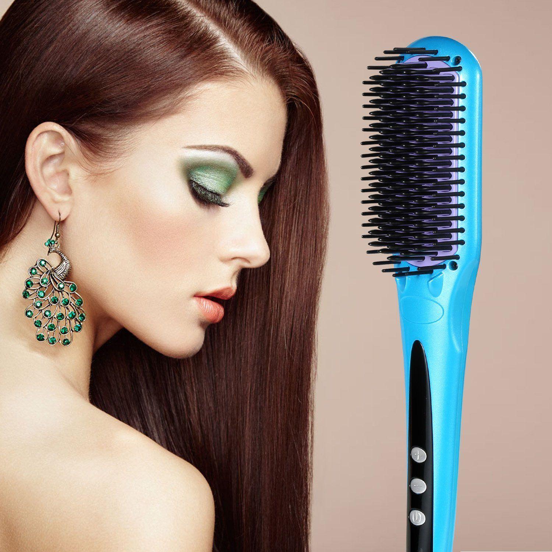 Hair brush straightener new arrivaleuph professional anion