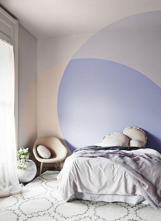 Créer une tete de lit en peinture : 20 inspirations canons