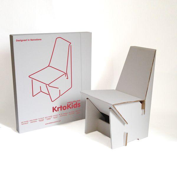 Una silla para niños y niñas de 3 a 6 años, para que jueguen con ...