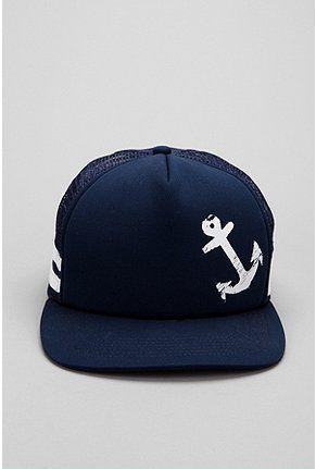 Anchor Trucker hat. Spring Jam anyone!  Gorra Personalizadas cf624b39467