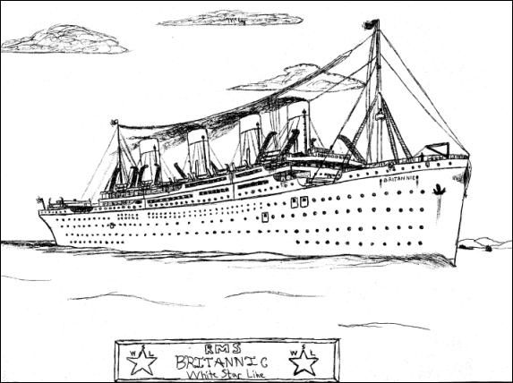 explore coloring pages and more britannic coloring pages