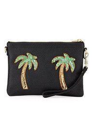 9bbd64a53916 TEA   TEQUILA Tulum Palm Tree Bag - Ink Black