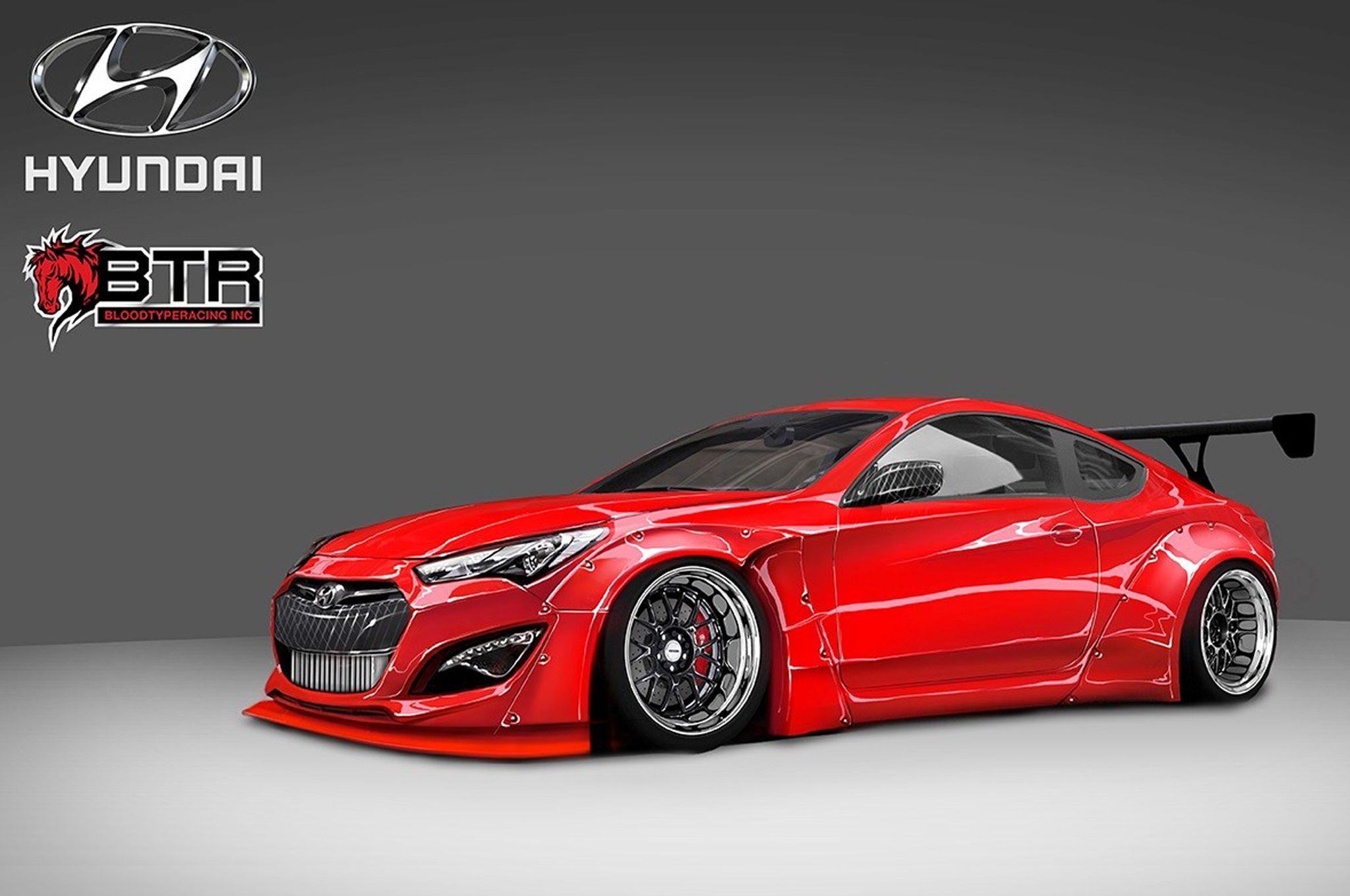 Custom Hyundai Genesis Coupe Brings 800 HP to SEMA Motor