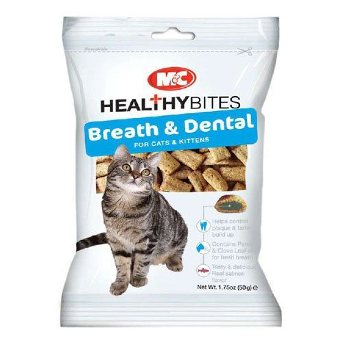 Mandc Healthy Bites Breath And Dental Care Cat Treat 50g Bulk Deal Of 6 300g Want To Know More Click On The Im Pet Dental Care Cat Care Tips Dental Care