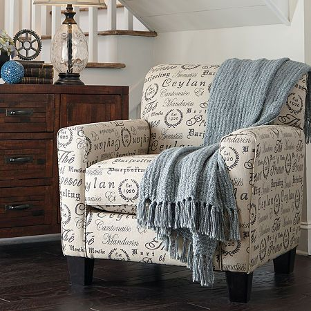 Signature Design By Ashley Camden Accent Chair In 2020 Furniture Interior Design Small Space Interior Design