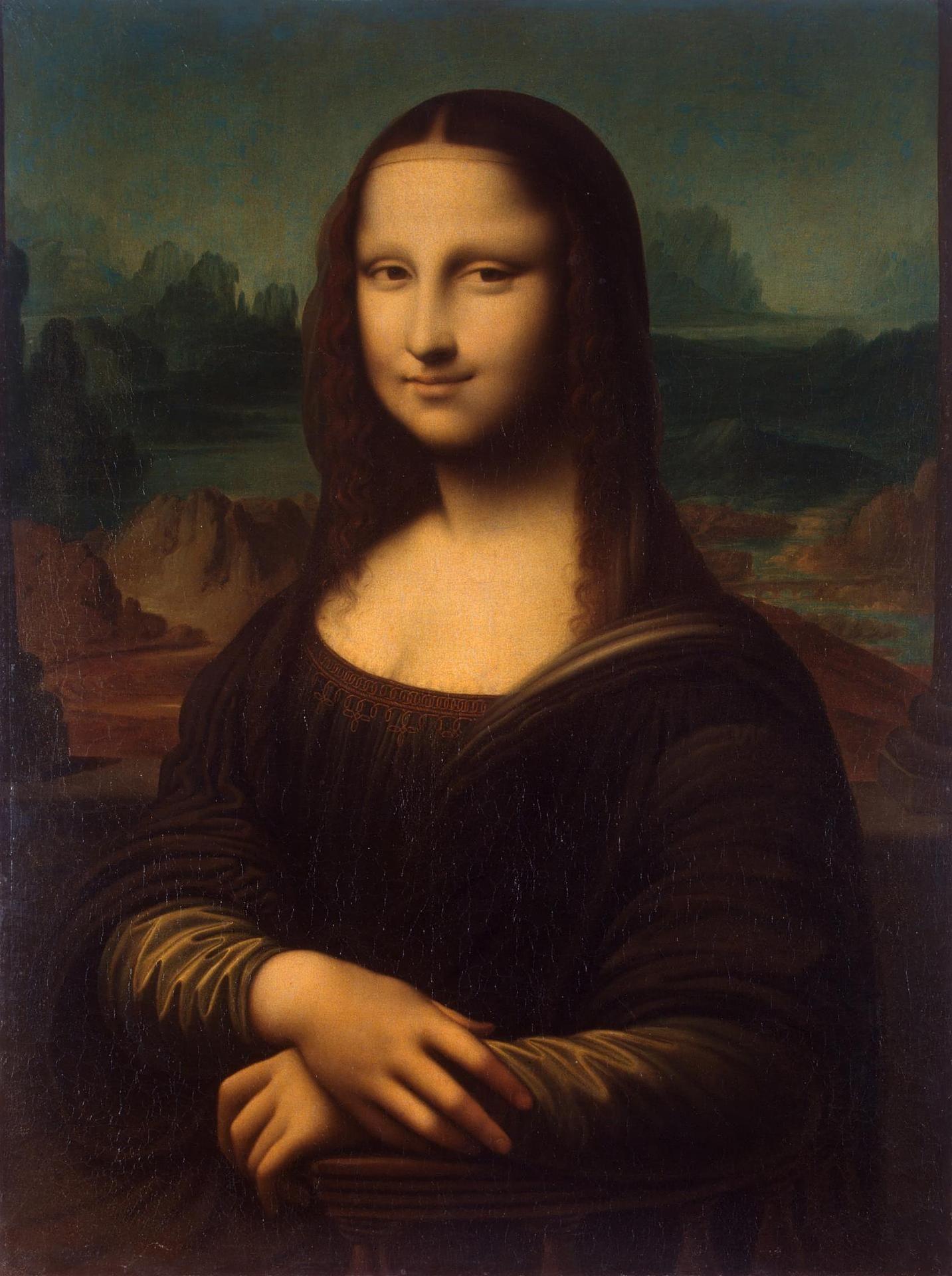 Picasso 1793 mona lisa  Aqui temos uma representação de uma figura humana neste caso a mais conhecida mona lisa .