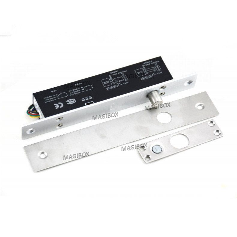 12v Fail Secure Time Adjustable Electric Bolt Lock Power On Unlock The Door Cathode Lock For Door Access Control System Electric Bolt Bolt Lock Access Control
