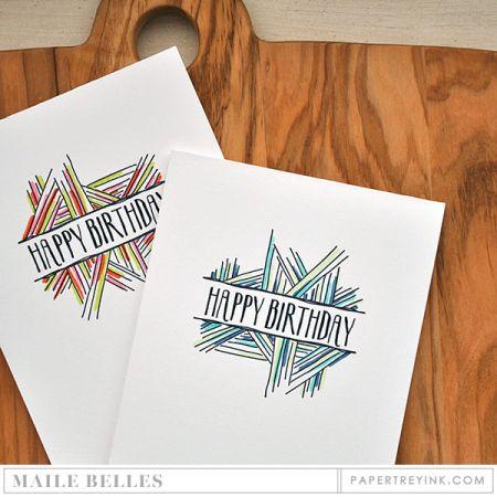 Hand Drawn Birthday Cards Crafts Pinterest Hand Drawn Cards