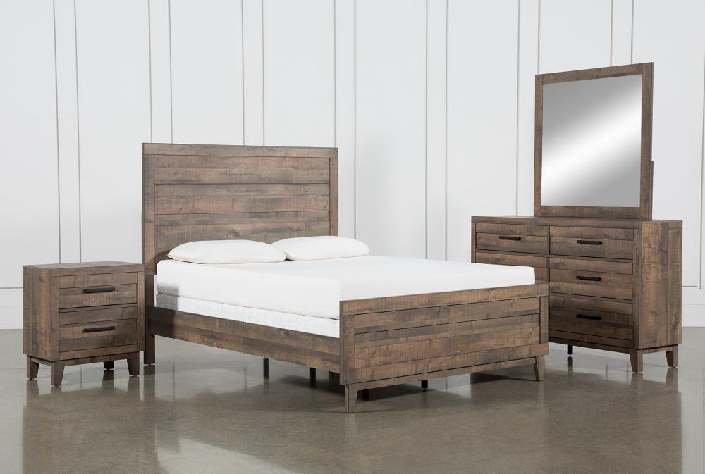 Ranier Full 4 Piece Bedroom Set Full Bedroom Furniture Sets Bedroom Set King Bedroom Sets