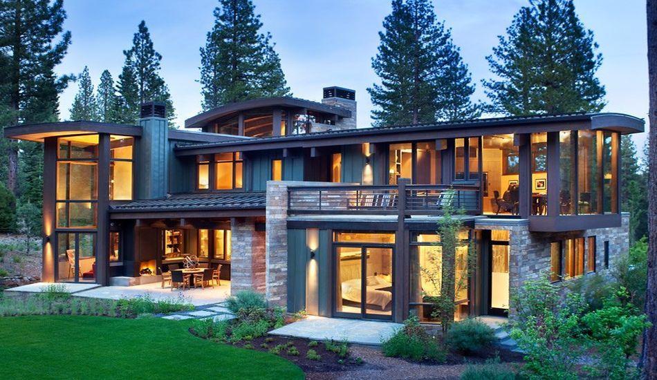 atypique maison en bois et pierre en lisire de fort aux usa une 15