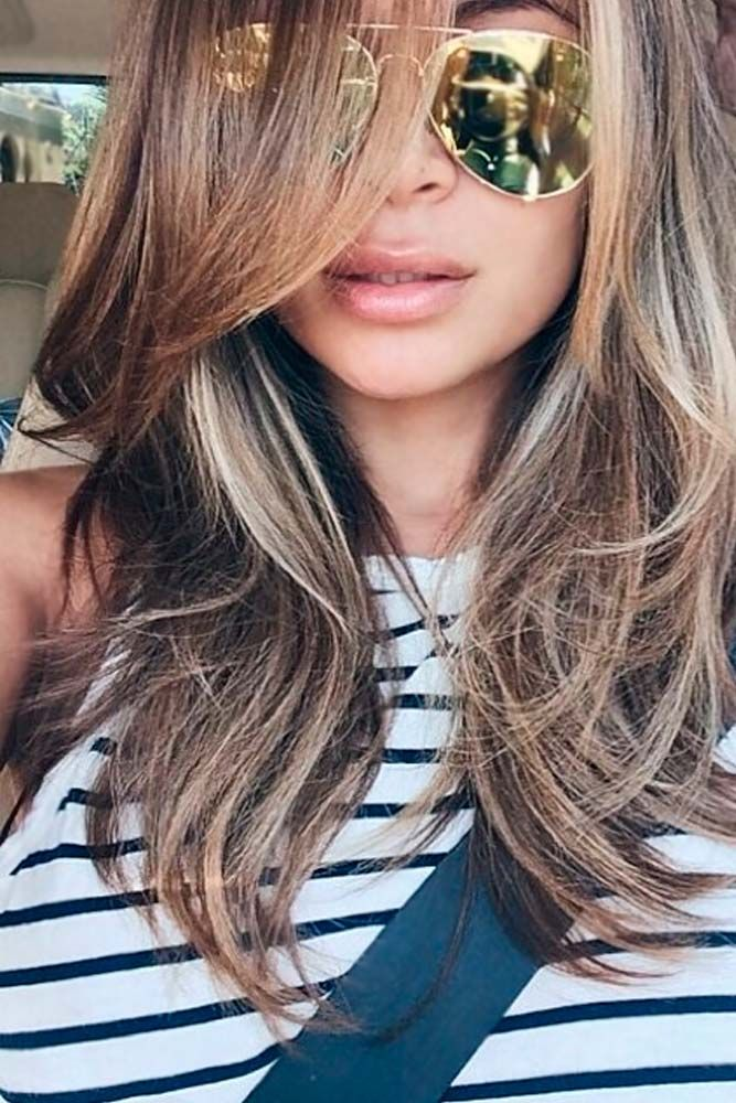 The Most Flattering 50 Haircuts For Square Faces Lovehairstyles Com Long Hair Styles Haircut For Square Face Hair Styles
