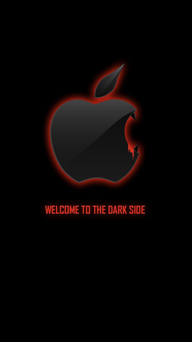 Vampire Apple Wallpaper Apple Iphone Wallpaper Hd Apple Wallpaper Iphone