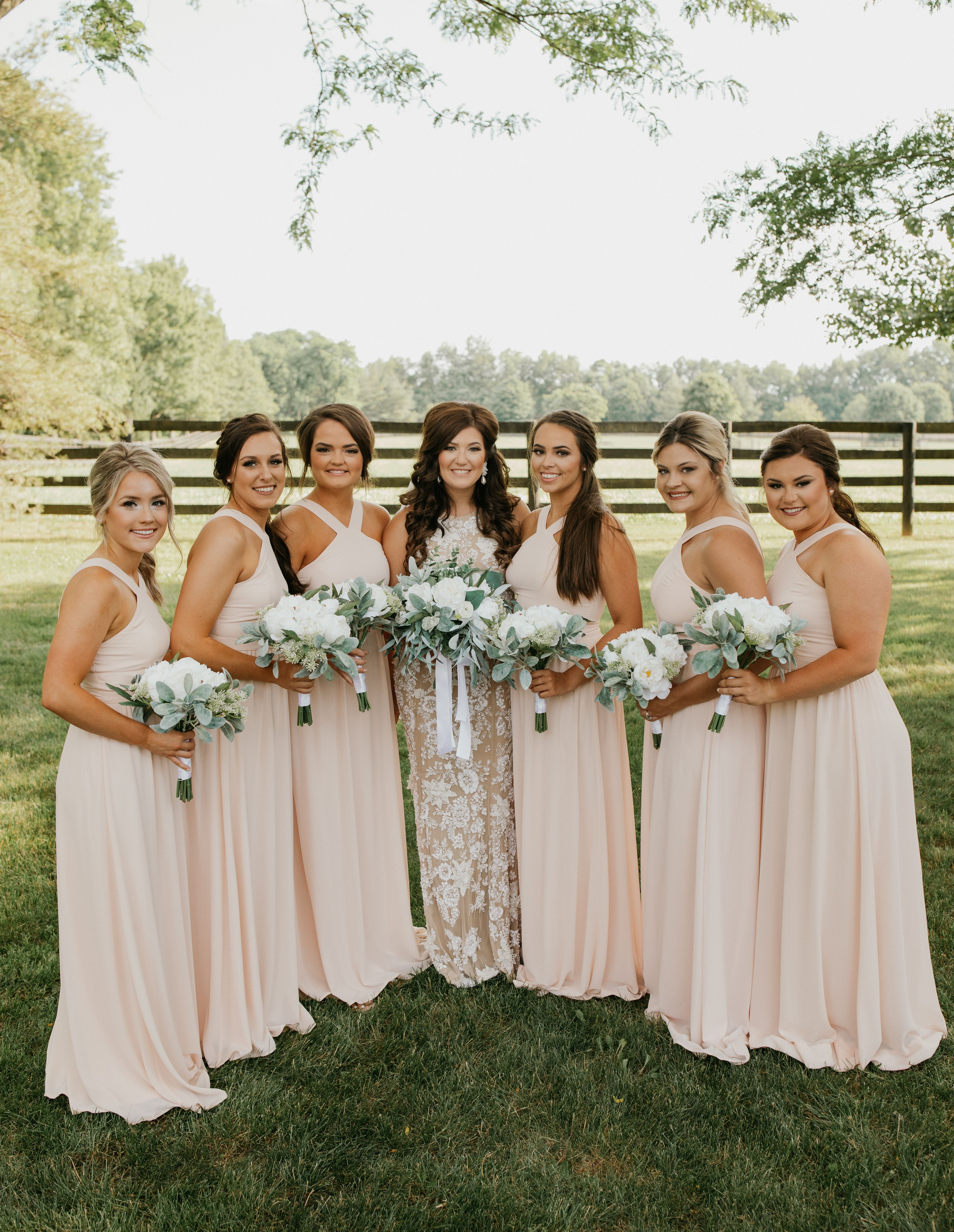 Kentucky Wedding Photographer Pink Bridesmaids Dresses Bridemaids Weddings In 2020 Bridesmaid Pink Bridesmaid Dress Bridesmaid Dresses