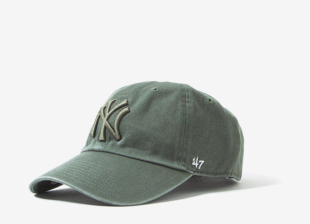 27ede4a7787 47 Brand New York Yankees Dad Cap - Moss