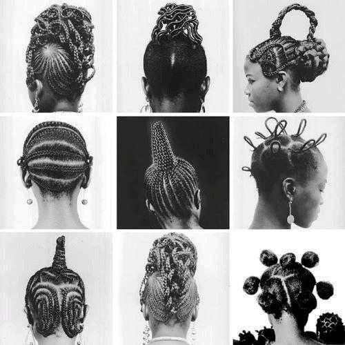 Osun Village Classic Yoruba Hairstyle Natural Hair Styles Hair Styles Traditional Hairstyle