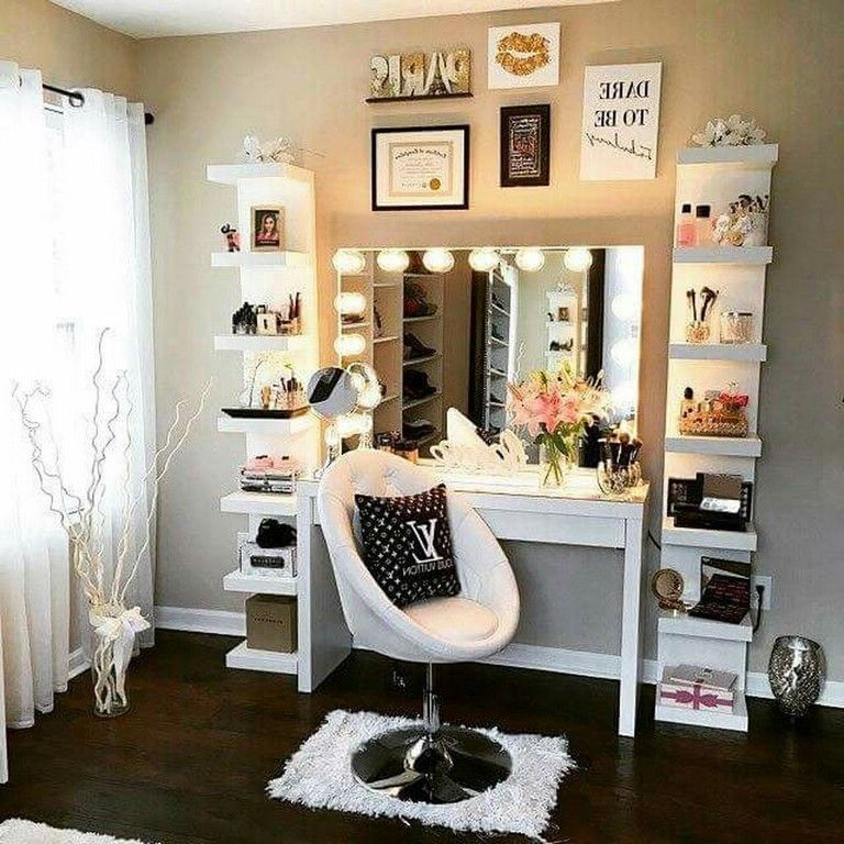 55 Beautiful Bedroom Decor Ideas for Girls Teenage bedroom