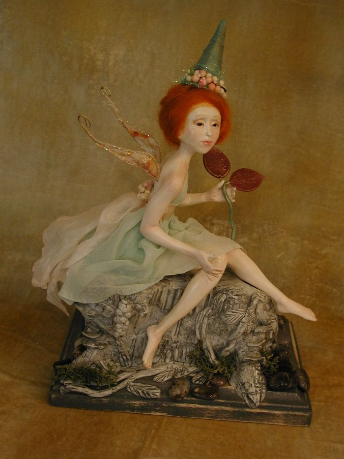 Garden Fairy Witch by Bonnie Jones - Fantasy art galleries at Epilogue.net - Fantasy and Sci-fi at their best