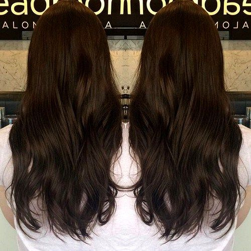 60 chocolate brown hair color ideas for brunettes dark brown 60 chocolate brown hair color ideas for brunettes urmus Image collections
