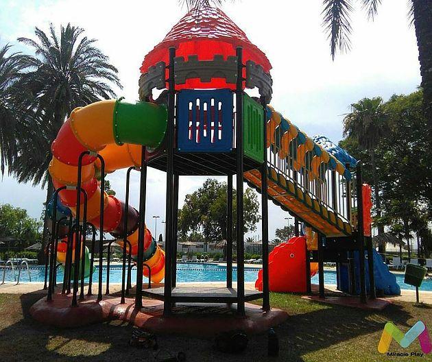 Parques Infantiles Miracle Play Panama Camping Valencia Fun