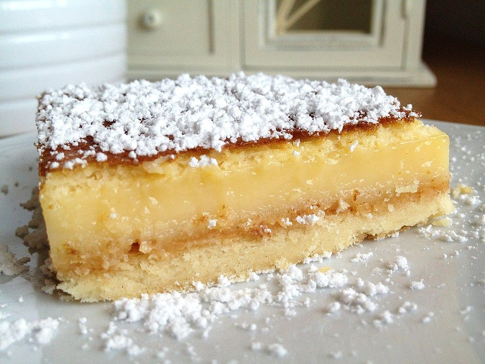 Lemon squares o tarta de lim n tartas de lim n postres - Postres ligeros y rapidos ...