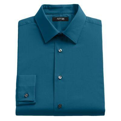Apt. 9® Slim-Fit Solid Stretch Dress Shirt - Men $21.99