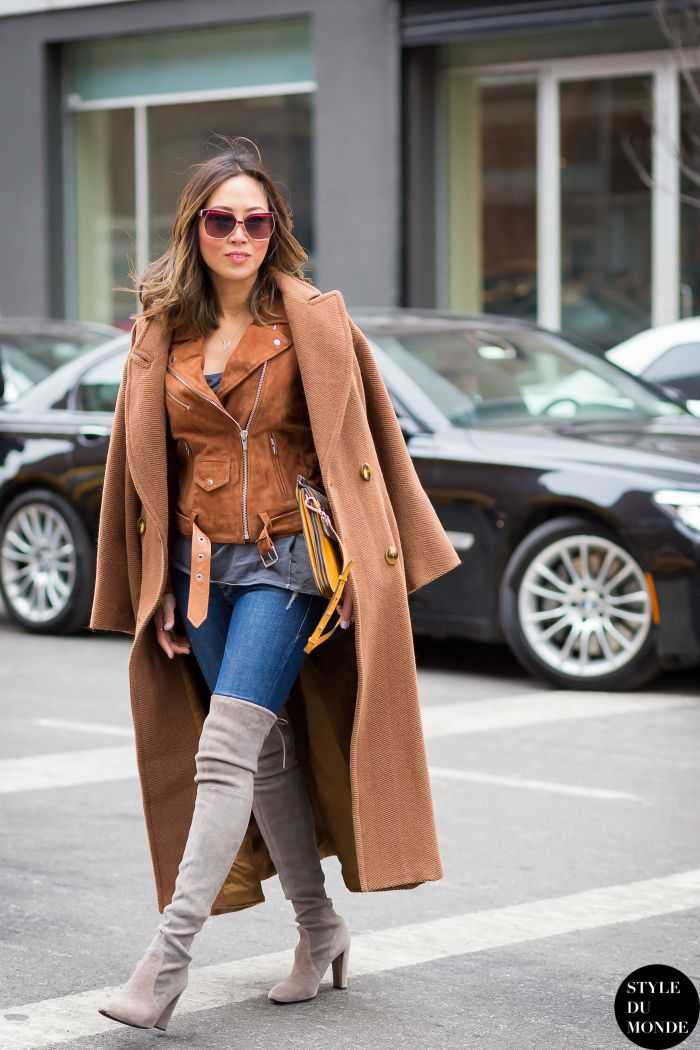 Bye, Black and White: Brown and Denim is Fashion's New Favorite ...