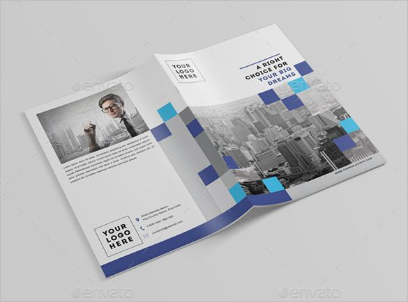 16 real estate brochures free psd eps word pdf for Brochure template indesign free download