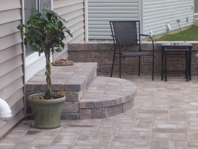Patio Steps Patio Stairs Small Brick Patio Patio Stones