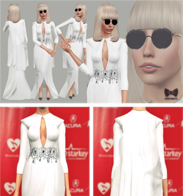 Musicares Red Carpet Look By Art Sims Sims  Downloads Cc Caboodle
