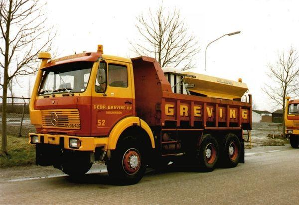 04 Db 40 Greving Gebr Groningen Vintage Vrachtwagens Oude Trucks Vrachtauto