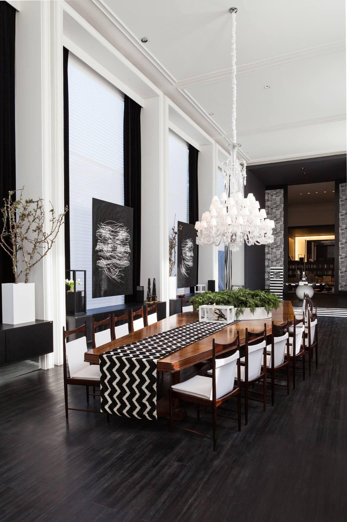 Online Interior Designer Spotlight Tiara Machado Dining Room Contemporary Modern Dining Room Luxury Dining Room
