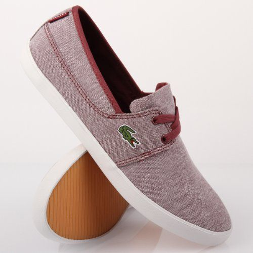 6b47601df Lacoste Marice Lace CLL SPM Dark Red Dark Blue 47  Amazon.co.uk  Shoes    Bags