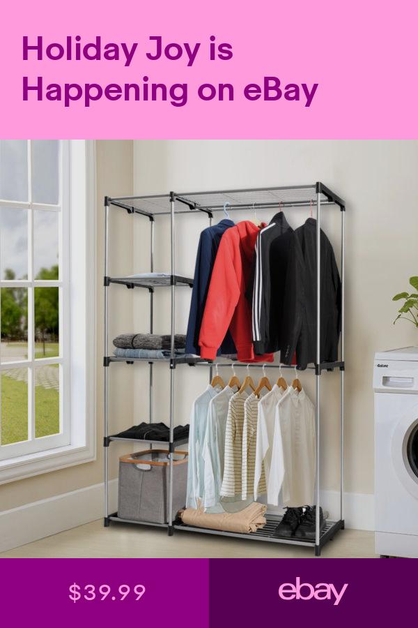Closet Organizers Home Garden Ebay Clothes Hanger Storage
