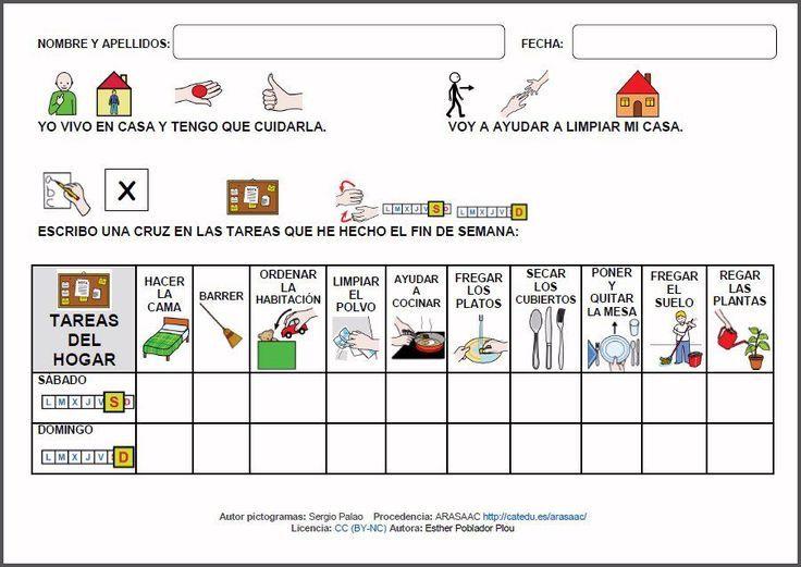 Resultado De Imagen De G Horario De Tareas Para Ninos En Casa