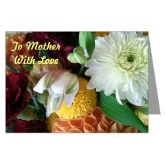 Mother's Day To Mother Greeting Card via Floral Dreams on CafePress