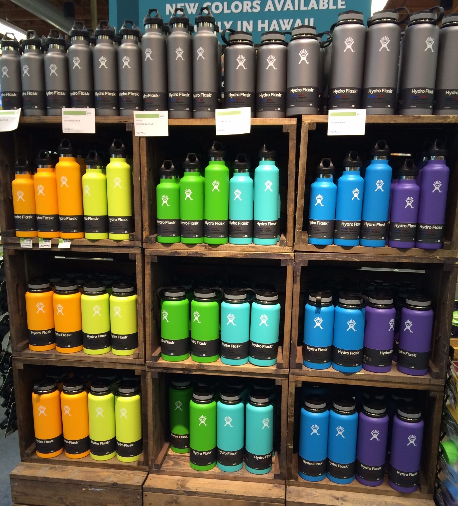 hydro flask cups mugs colors mouths and hawaii