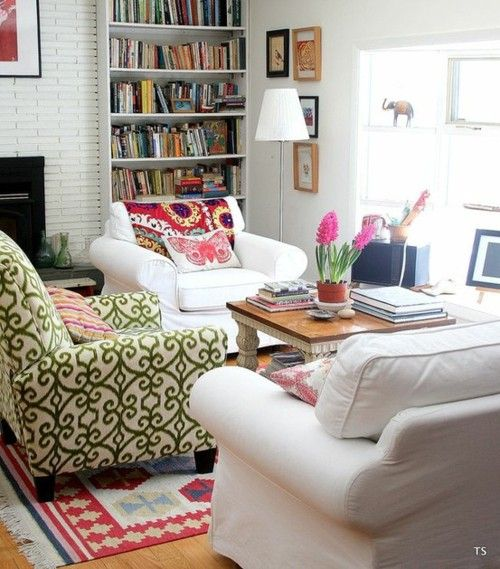 Colourful Cosy Living Room