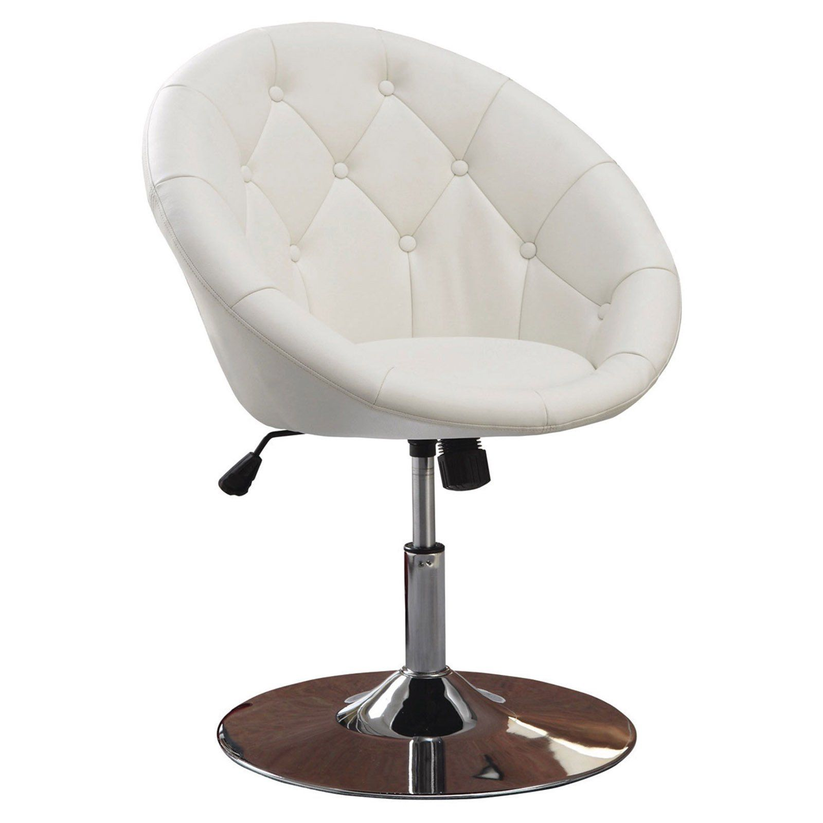 Coaster Furniture Agoura Armless Accent Chair White In