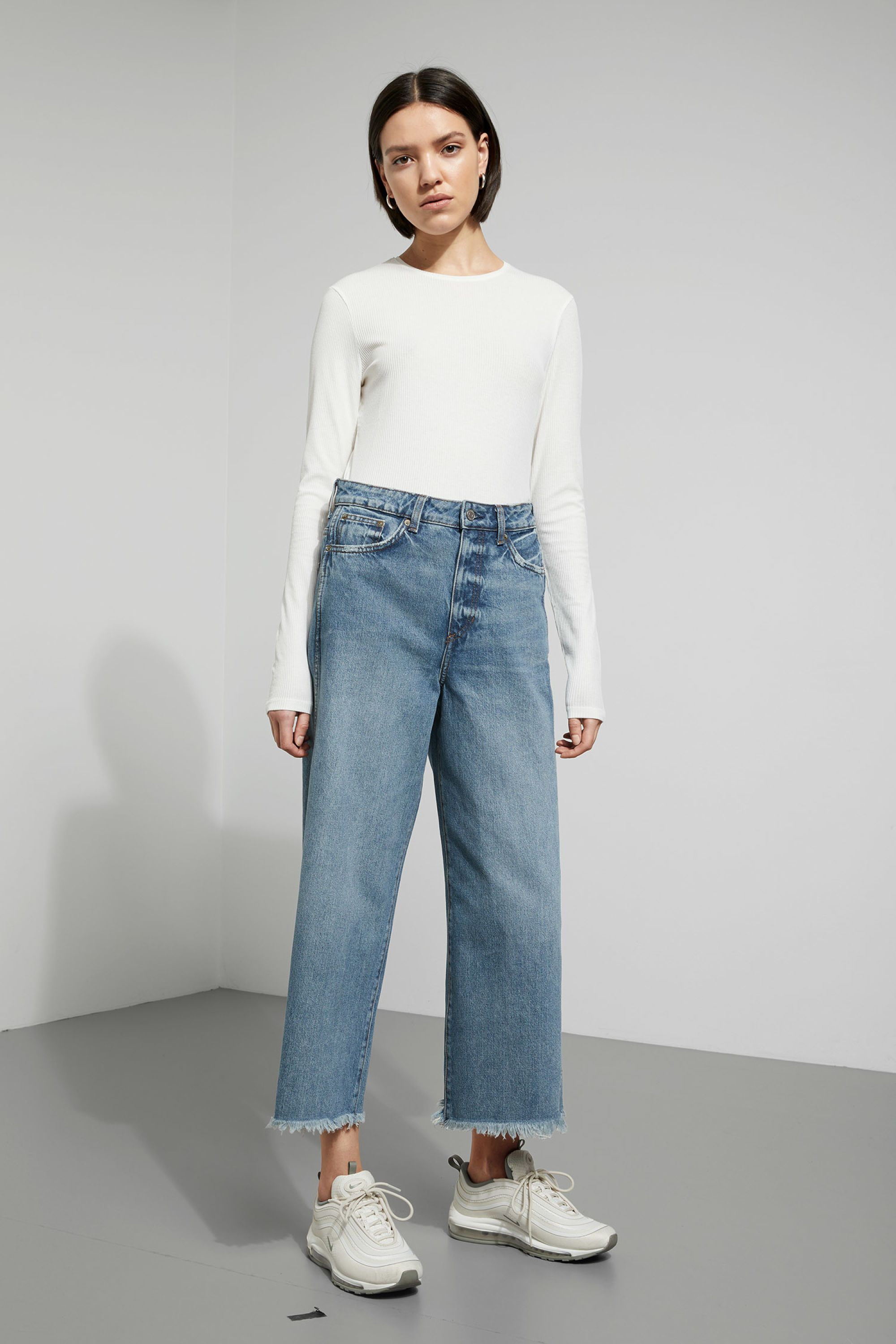 on sale official sale famous designer brand Weekday jeans   Culottes & co in 2019   Stretch denim ...