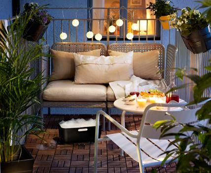 Ikea balkonmöbel lounge  Mini Lounge Ecke by Ikea | little balcony | Pinterest | Ikea ...