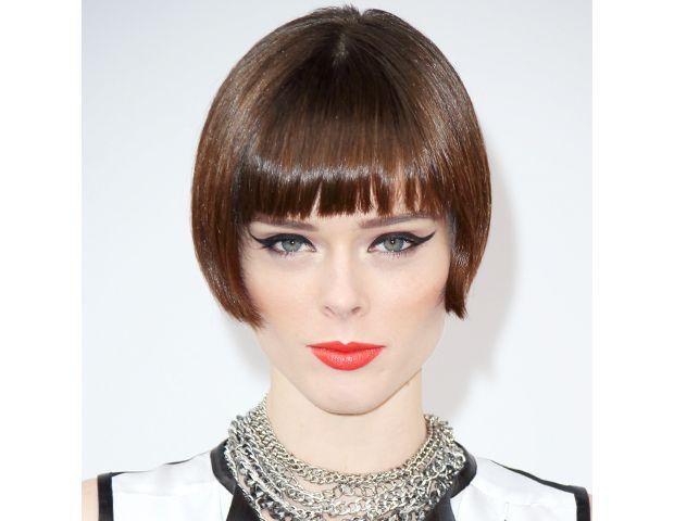 Intimidating hair cut