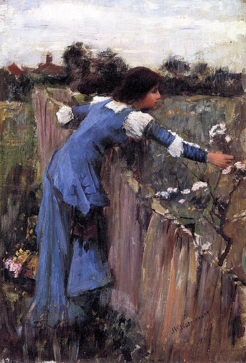 Pittura Preraffaellita Inglese John William Waterhouse Hermann Hesse Paint Me John William