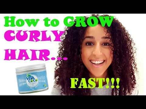 How to GROW CURLY HAIR... FAST!!! - YouTube