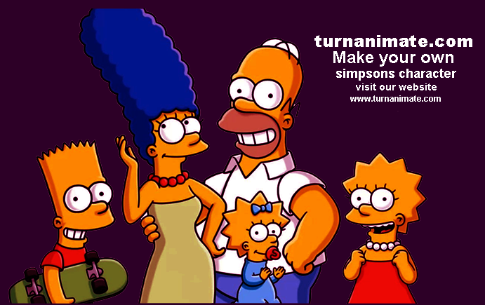 If You Want To Make Your Own Simpsons Character Turnanimate Have Huge Amount Of Experts Team Of Simpsons Character C Simpsons Characters Character Creator