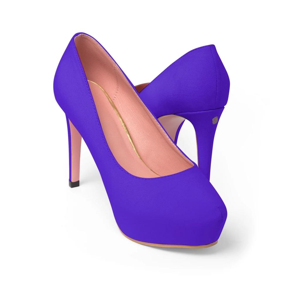 Glitter High Heels Ombre Purple Glitter High Heels Womans Us Etsy Heels Purple High Heels Glitter High Heels