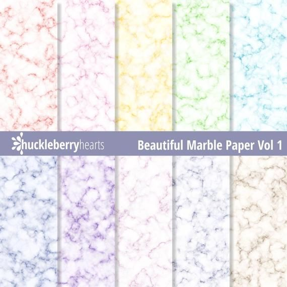 Marble Paper, Digital Marble Paper, Marble Scrapbook Paper, Marble Texture, Printable, Commercial Use #marbletexture
