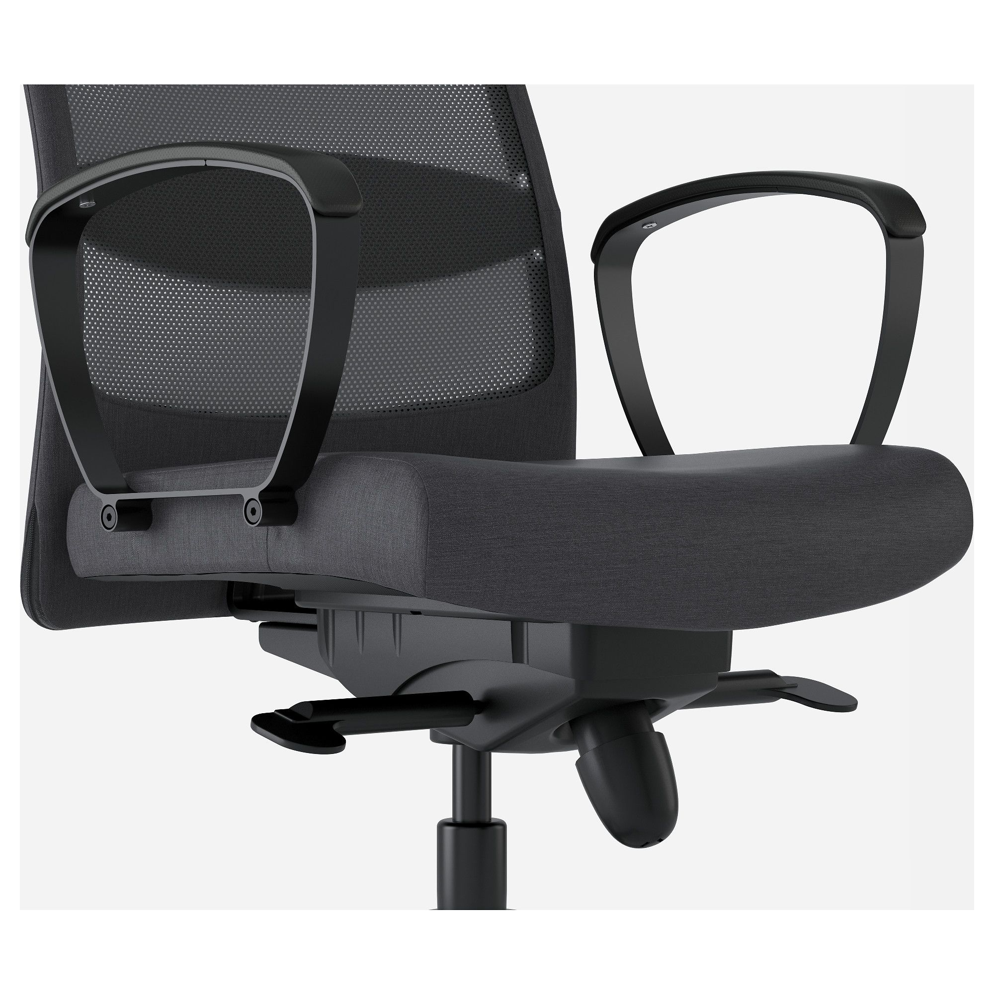 IKEA LÅNGFJÄLL Conference chair with armrests Chair