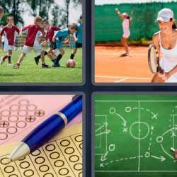 Ninos Juegan Futbol Tenis 4fotos 1palabra Com Nino