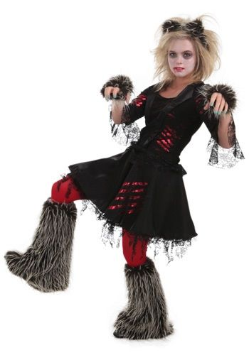 now the ladies can howl at the moon in this adult howlette werewolf costume the womens costume features a look that will have you ready to let your inner - Wolf Halloween Costume Kids
